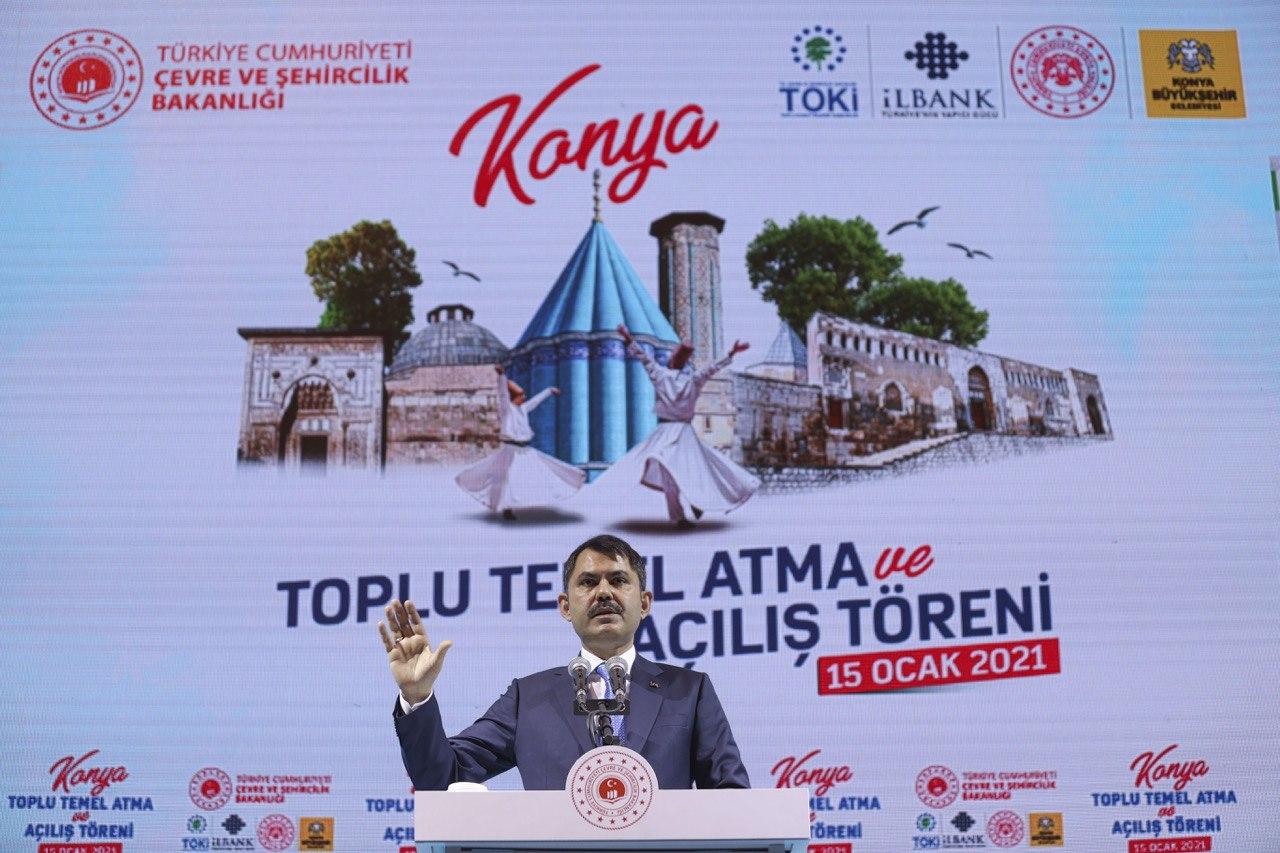 """BAKAN KURUM: KONYA'YI MARKA ŞEHİR YAPACAĞIZ"""""""