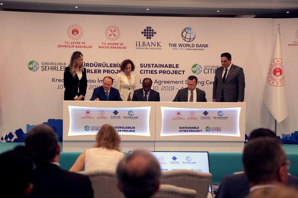 İlbank İle Dünya Bankası Arasında 500 Mİlyon Avroluk Kredİ Anlaşması İmzalandı